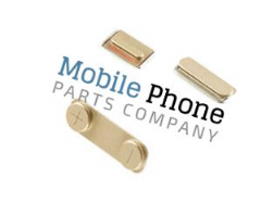 Apple iPhone 5S External Button Set - Gold